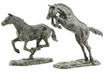 Horse Bronze Sculptures