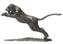 Lion Bronze Sculptures