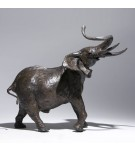 Bronze Elephant Sculpture: Large Bull Elephant by Jonathan Sanders