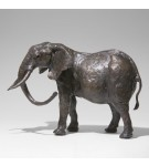 Bronze Elephant Sculpture: Large Elephant (Mother) by Jonathan Sanders